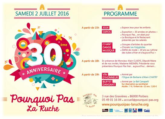 30 ans pplr programme